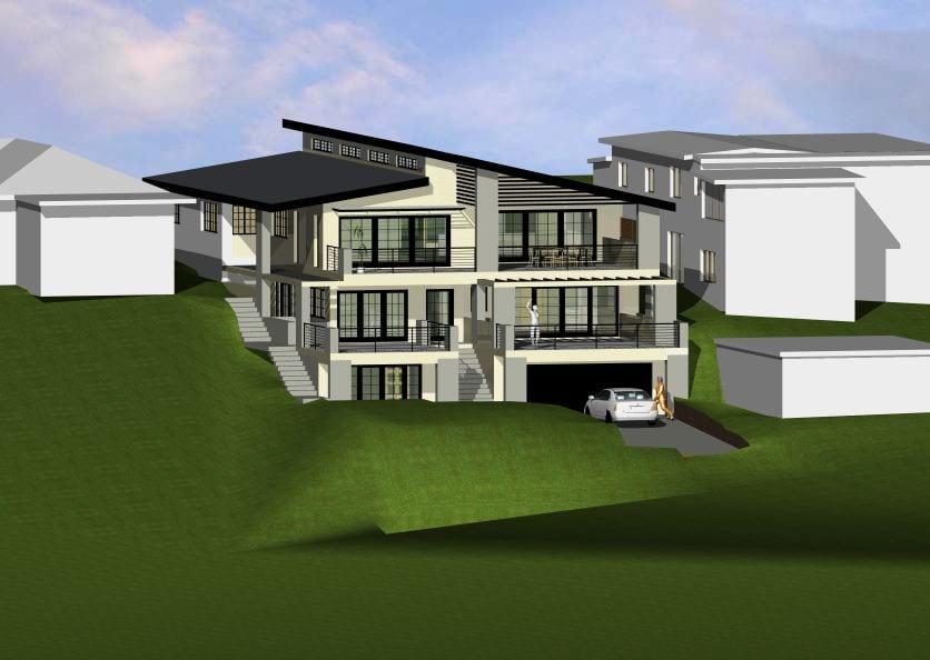 Enl Designer Home Concept 3d Render